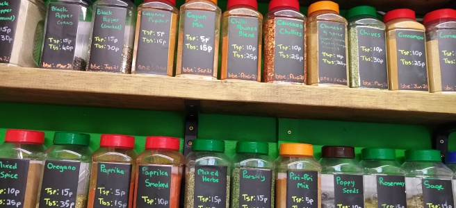 Bekind Kitchen's herb refills