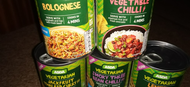Asda vegan tins