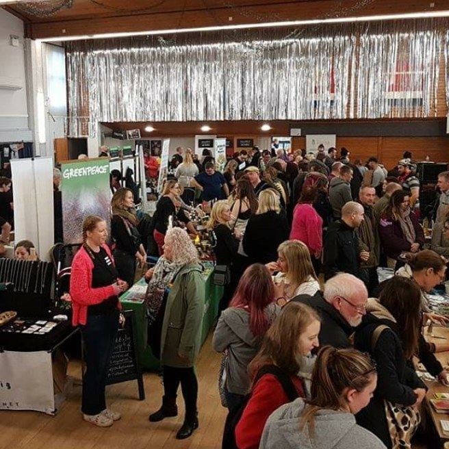 Thrive Vegan Festival 2018 crowd