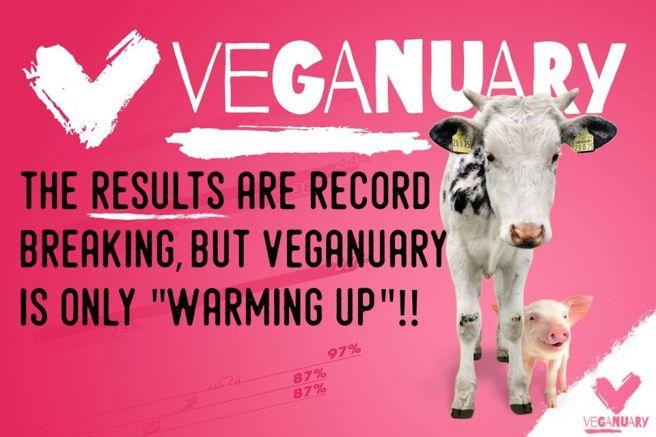 Veganuary ad